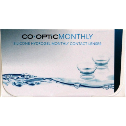 CO.OPTIC Monthly (6 lenzen/2 x 3-pack) - Air optix aqua private label