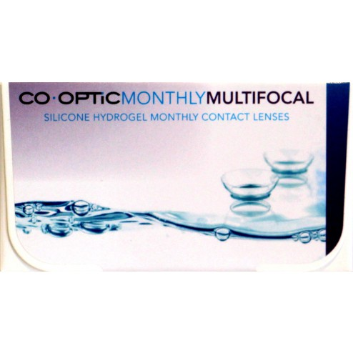 CO.OPTIC Monthly Multifocal (6 lenzen / 2 x 3-pack) - Air Optix Multifocal Aqua