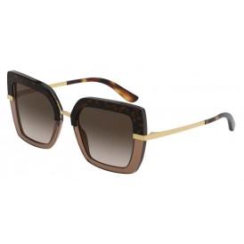 Dolce & Gabbana DG4373 - Havana On Transparant Brown
