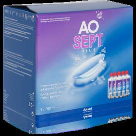 Aosept Plus  (5 flessen)