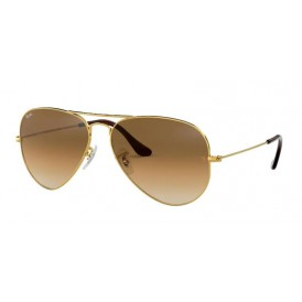 Ray-Ban Aviator - Gold Brown Gradient