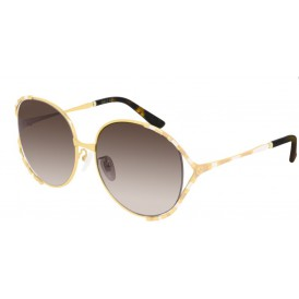 Gucci 595S - Gold+Brown