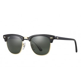 Ray-Ban Clubmaster - Black/Gold