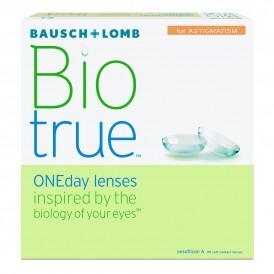 Bausch + Lomb Biotrue ONE Day Astigmatism (90 lenzen)