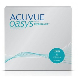 Acuvue Oasys 1-Day with HydraLuxe (90 pack)