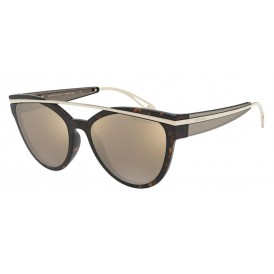Giorgio Armani 8124 - Havana Mirror Gold