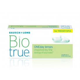 Bausch + Lomb Biotrue ONE Day Presbyopia (30 pack)