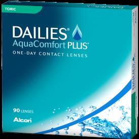 Focus Dailies Aqua Comfort Plus Toric (90 pack)