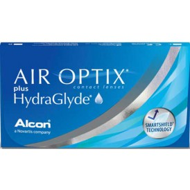 Air Optix plus Hydraglyde (6 lenzen)