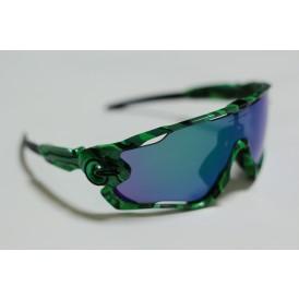 Jawbreaker Bright Green Camo - Jade Iridium