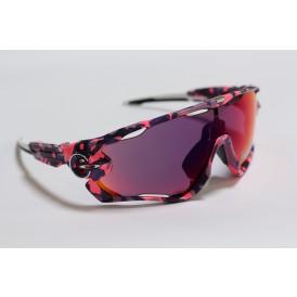 Oakley Jawbreaker Pink & Blue Camo - Prizm Road