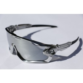 Oakley Jawbreaker Chrome - Black Iridium