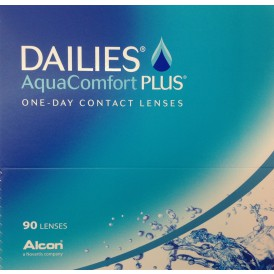 Focus Dailies AquaComfort Plus (90 pack)