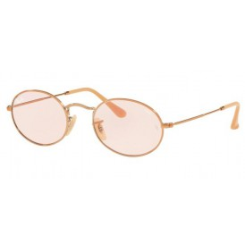 Ray-Ban Oval EVOLVE - Copper + Pink Photochromic