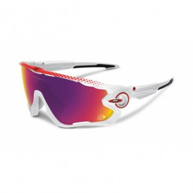 Oakley Jawbreaker Polished White TDF 2016 - Prizm Road