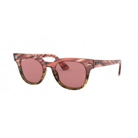 Ray-Ban Meteor - Striped Beige Gradient Pink