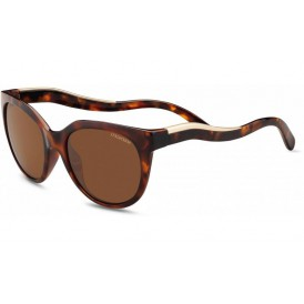 Serengeti Lia - Shiny Dark Tortoise Polarized