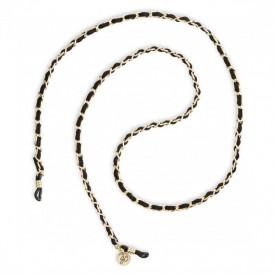 Eyewear Chain - Black&Gold