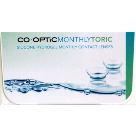 CO.OPTIC Monthly Toric (6 lenzen/2 x 3-pack) - Air Optix for Astigmatism private label