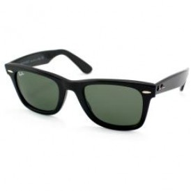 Wayfarer Black G15 Polarised