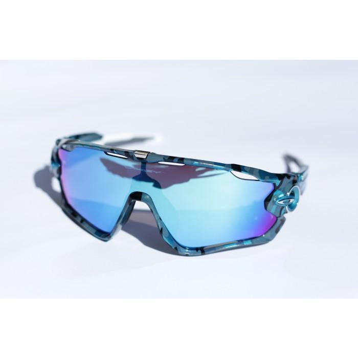 Jawbreaker Deep Blue Camo Sapphire Iridium Van Gorp