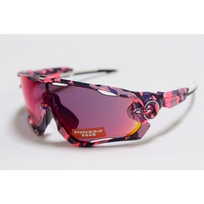 Oakley Jawbreaker Pink Amp Blue Camo Prizm Road
