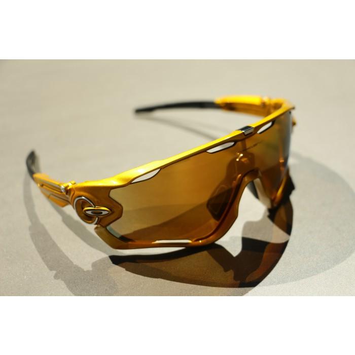 Oakley Jawbreaker Greg Van Avermaet Gold Fire Polarised