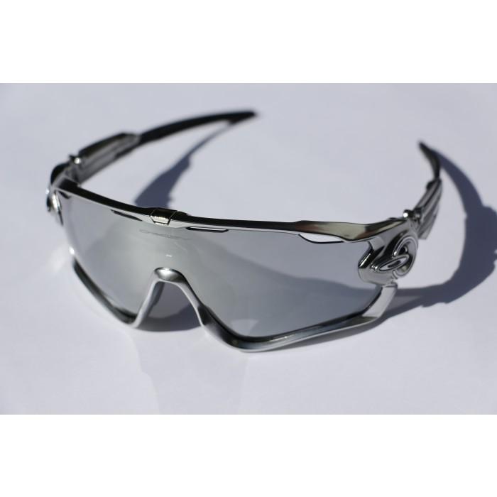 Oakley Jawbreaker Chrome Black Iridium