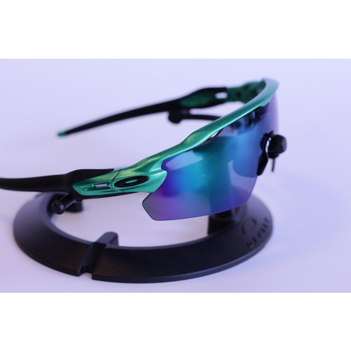 oakley sports goggles  Radar EV Gecko Green - Jade Iridium - Van Gorp Designs - Oakley ...
